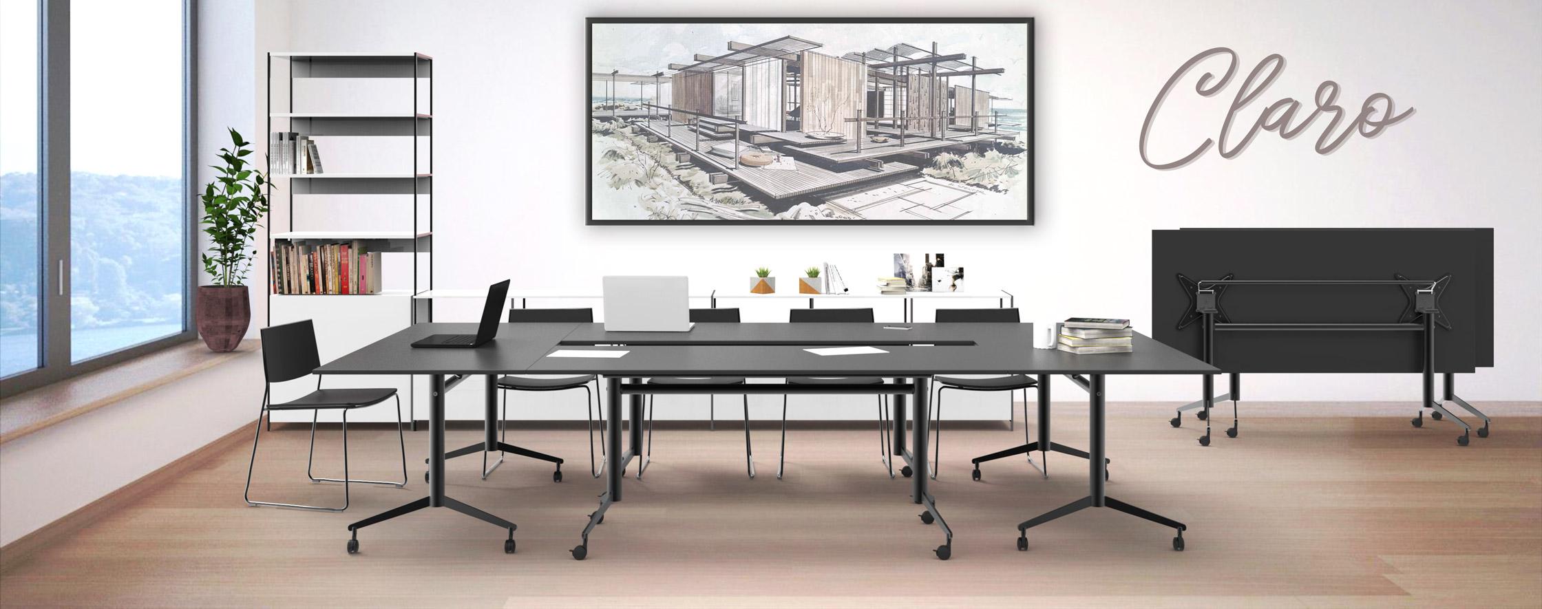 Een stijlvolle klaptafel voor iedere multifunctionele ruimte